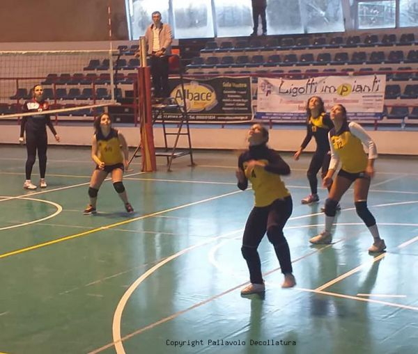 Ligotti Impianti Decollatura - Blue Foxes Sicma Volley: 0 - 3